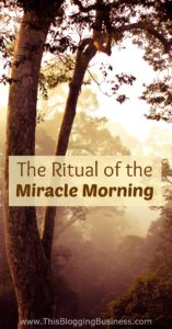 Set your day up right with The Miracle Morning - popularised by Hal Elrod in his book, 'The Miracle Morning' he espouses the benefits of creating mindful morning habits. A ritual that will set up you day, you week, your month, your year, your life.