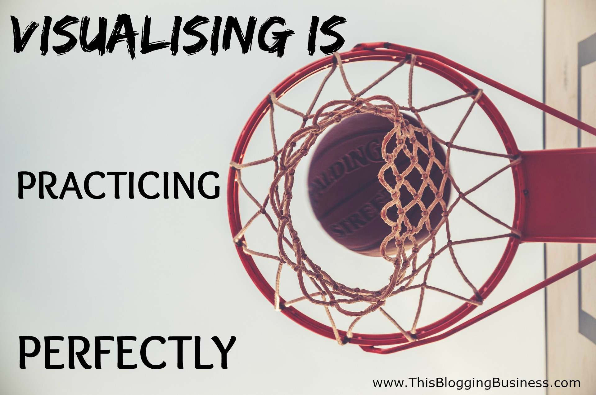 When your visualizing you have the ability to conduct practice sessions in your head; but you get to practise those sessions perfectly. This gives your mind the positive results that it needs to feed your belief. Your belief in your ability and your potential grows with each perfect practice session you have.