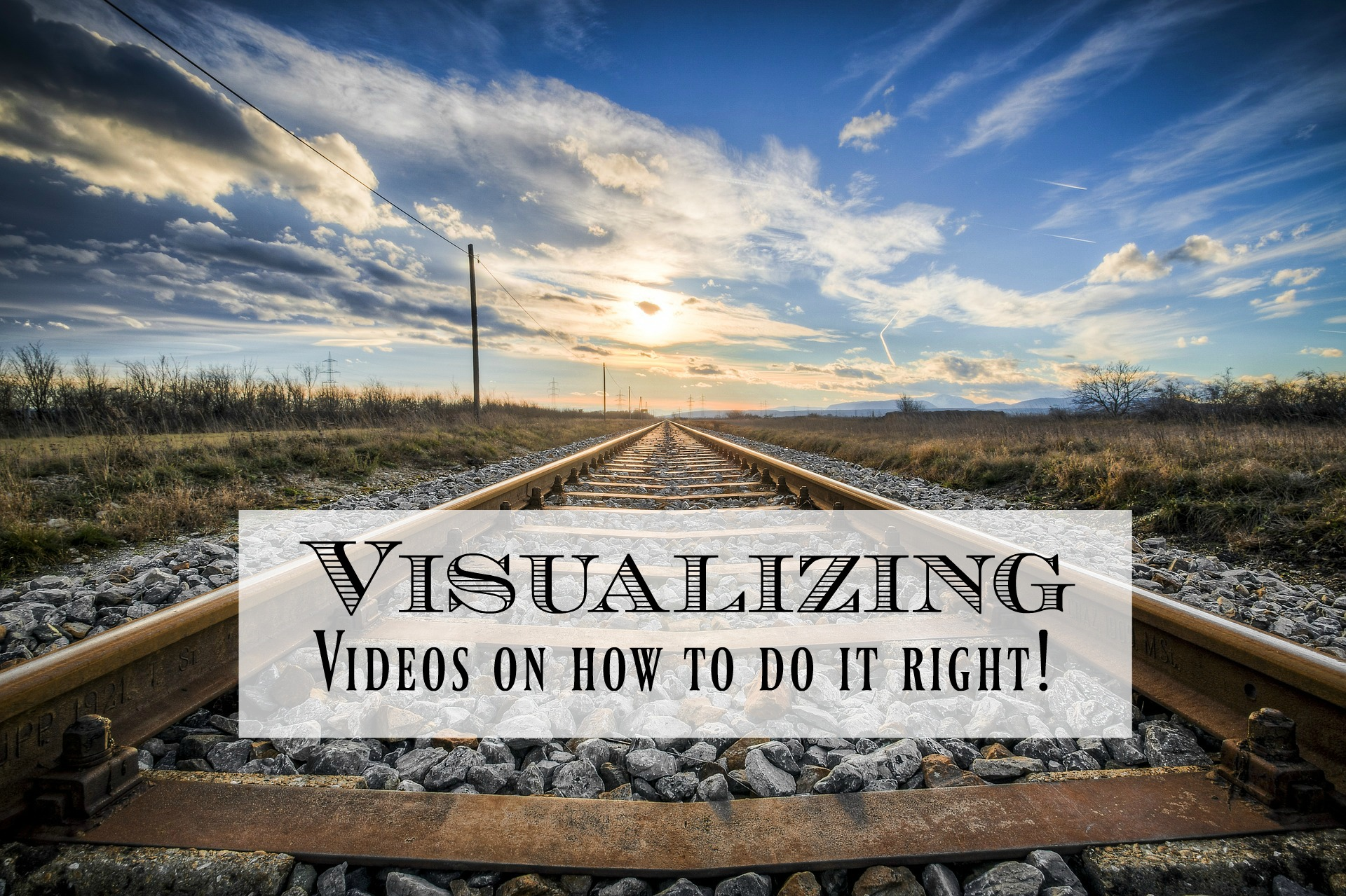 Visualizing can sometimes be hard to do. Are you doing it right? Is there even a 'right' way to do it? Or am I just wasting my time. I've put together four of my favourite videos that explain what visualizing is doing to your head, a process for how to do it and a vivid example by a world class athlete.