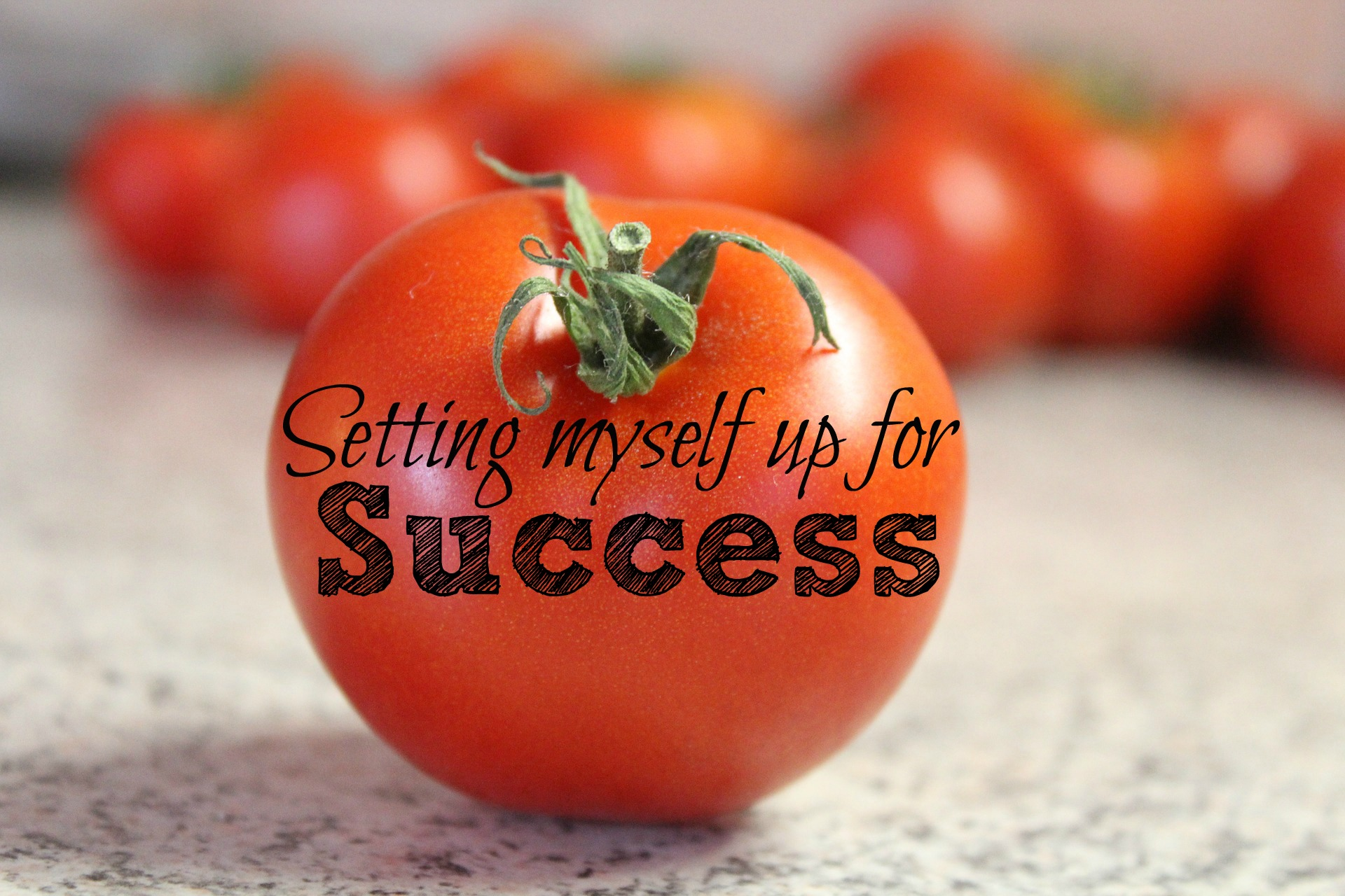 Setting Myself Up For Success with a daily success plan is the action part of getting on with your goals. It's setting that daily intention to take one (or three) steps closer to your goals. It's making it a habit, a daily habit, that over time, leads to extraordinary results.